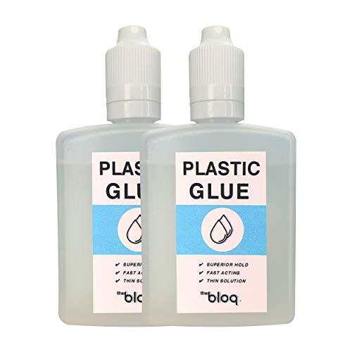 Colla per plastica (Confezione doppia) Super Colla Cementizia per Plastica ABS Acrilico Perspex Polistirolo (120ml)
