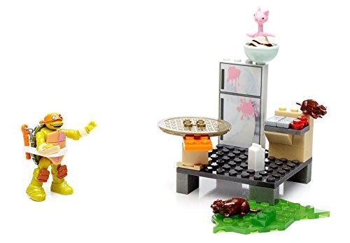 Mega Bloks- Ninja Turtles Scatola Costruzioni 2ass, Multicolore, DXY13