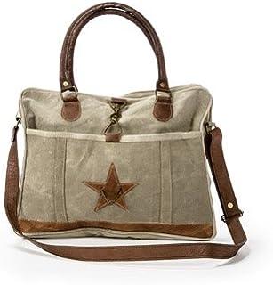Josette - Handmade Messenger Bag with Star from The Barrel Shack