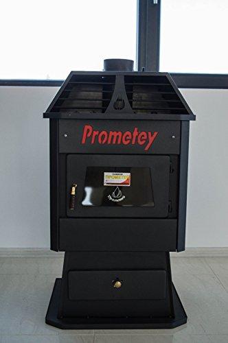 Legno stufa caminetto combustibile solido tronchi 9kW Prometey Shik 1