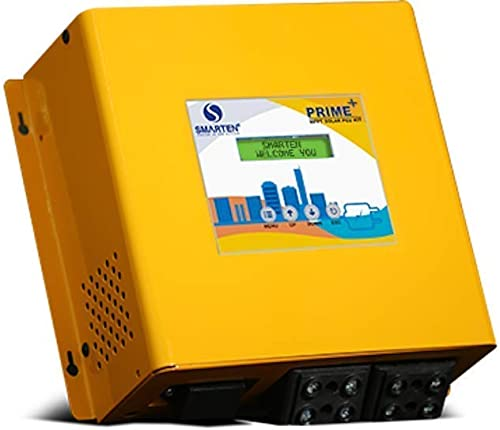 Smarten Prime + MPPT 12/24 Volt Solar PCU/Charge Controller 30 Ampere - Yellow