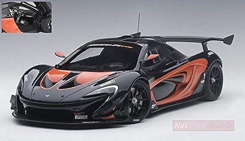 AUTOART AA81543 MC LAREN P1 GTR DARK grau METALLIC Orange 1 18 DIE CAST MODEL