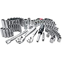 105-Pieces Craftsman Standard and Metric Polished Chrome Mechanics Tool Set