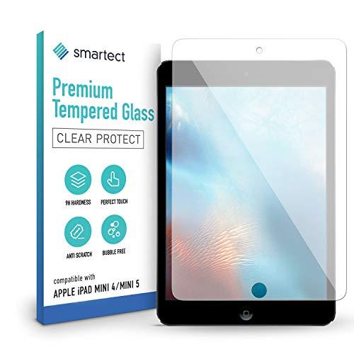 smartect Schutzglas kompatibel mit Apple iPad mini 4 / mini 5 - Tempered Glass mit 9H Festigkeit - Blasenfreie Schutzfolie - Anti-Kratzer Bildschirmschutzfolie