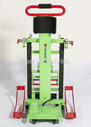 YIONGA CAIJINJIN Electric Rollstuhl 2020 elektrische Stromklettertreppen Automatische Raupen-Raupen-Auf- und Ab-Behinderte Treppen Kletteranleitung/Sport-Rollstuhlleiter (Color : As pic5)