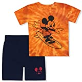 Disney 2 Pack Mickey Mouse Tie Dyed Short...