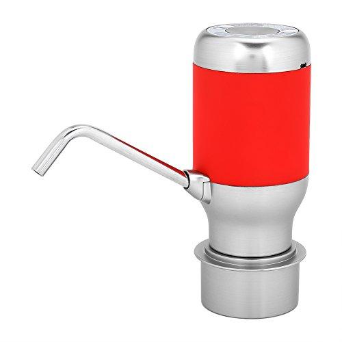 Garosa Elektrische drinkwaterpomp, draadloos, oplaadbaar, drinkwater, automatische pomp, draagbare drinkdispenser USB voor drinkwaterfles