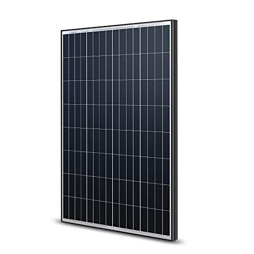 Renogy 100 Watt 12 Volt Monocrystalline Solar Panel -- Black Frame Sleek New Design
