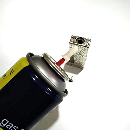 rollagas Feuerzeug Butan Gas Adapter fll in für Rollagas Lighter Dress Lighter
