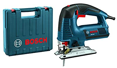 Bosch Power Tools Jigsaw Kit - JS572EK - 7.2 Amp Corded Variable Speed Top-Handle Jig Saw Kit with Assorted Blades and Carrying Case from Bosch