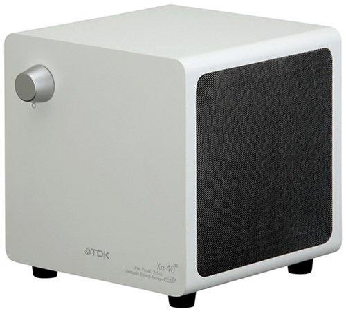 TDK ワンボックス2.1chフラットパネルスピーカー シルバー色バージョン [SP-XA40WS]