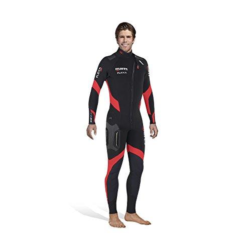 Mares flexa 5.4.3 wetsuit heren, flexa 5.4.3, zwart/zwart, maat S7
