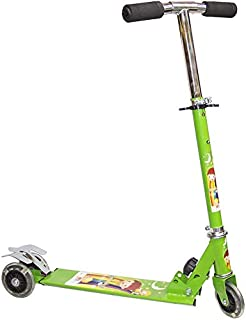 3 Wheel Kid's Scooter with LED Light - SC-5307G, Green