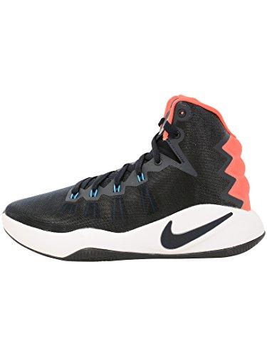 Nike Jungen Hyperdunk 2016 (GS) Basketballschuhe, Schwarz (Dark Obsidian Bright Crimson White), 36 EU