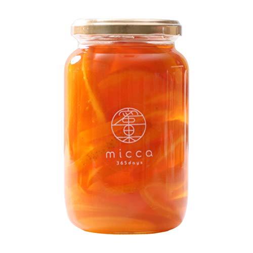 山下屋荘介 国産濃縮シロップ micca [ 清見オレンジ / 450g ] 蜜果 調味料 国産原料使用