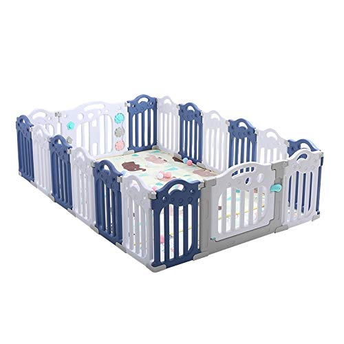 Fantastic Prices! QARYYQ Children's Fence Baby Safe Crawling Toddler Guardrail Household Plastic Sha...