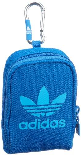 adidas Originals - Bolso de Asas de Piel Lisa para Mujer Azul Blau/Bluebird