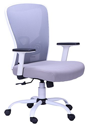 New Ergonomic Office Swivel Mesh Computer Chair with Adjustable Armrest