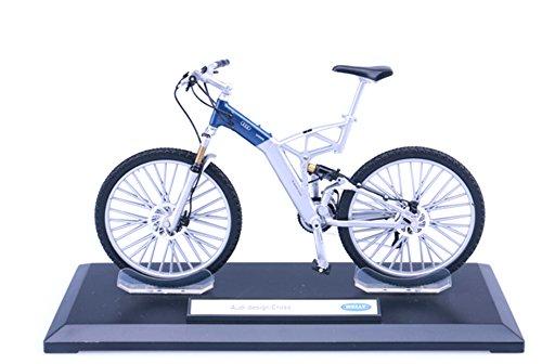 マウンテンバイク(MTB)自転車ミニチュア 1/10スケール 自転車模型