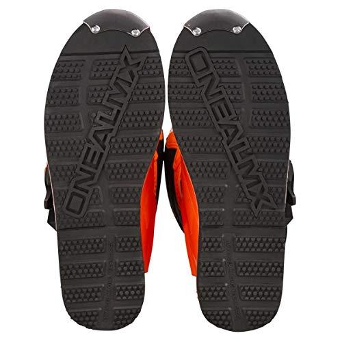 O'Neal Rider Boot MX Stiefel Orange Moto Cross Motorrad Enduro, 0329-3, Größe 45 - 10