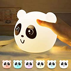 (⚫ᴥ⚫) [Panda Night Light] There are 7 modes of color change mode + fixed color mode and 4 modes like Panda has two normal (warmer and stronger) + breathing modes. It can be used for creating atmosphere in breathing mode and colorful mode for nursing ...
