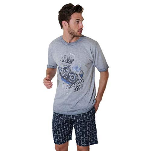 Massana Pijama de Hombre Estampado m/c P201310