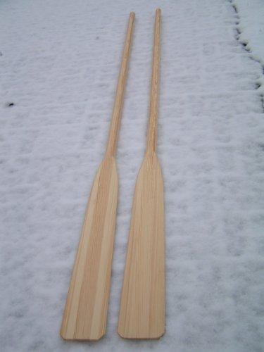 Seerose Paar Holz-Ruder 2,40m Länge