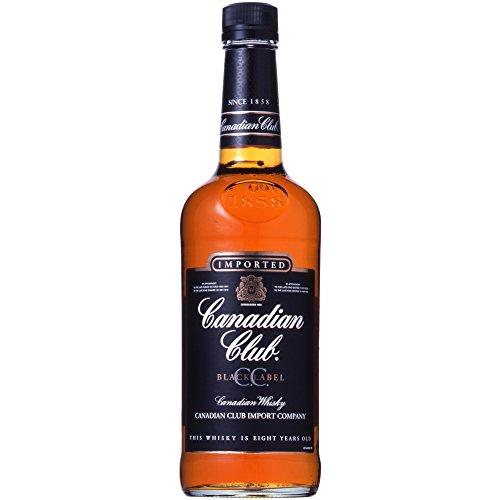 カナディアン ウイスキー カナディアン クラブ ブラックラベル [カナダ 700ml ]