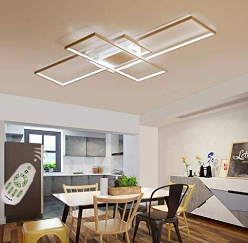 Lámpara LED de Techo, Moderna Luz de Techo de diseño Cuadr