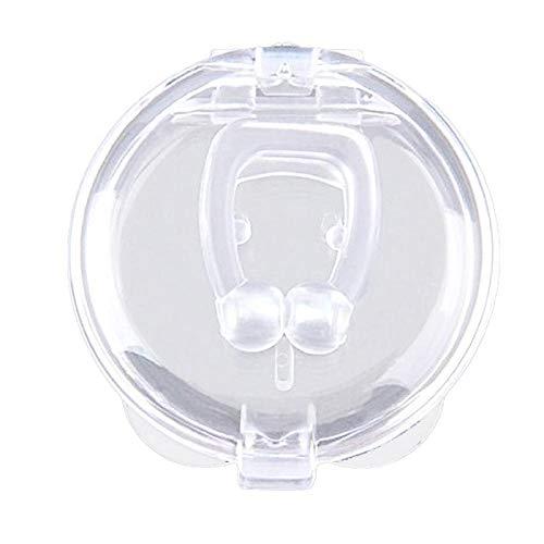 Dilatador nasal magnético antirronquidos Dispositivo de clip de nariz para ronquidos Fácil de respirar Mejorar el sueño para hombres/mujeres 10 piezas