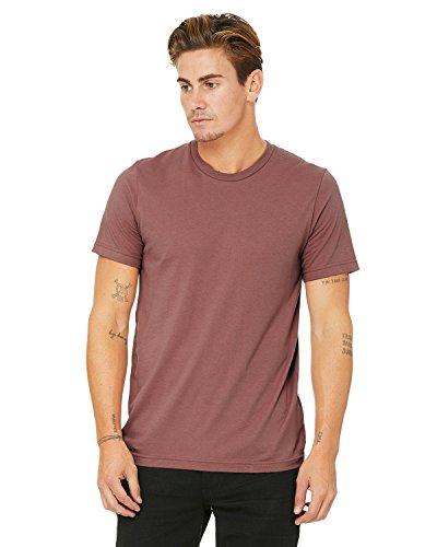 Bella Canvas Men's Jersey Short Sleeve Tee, Mauve, Medium