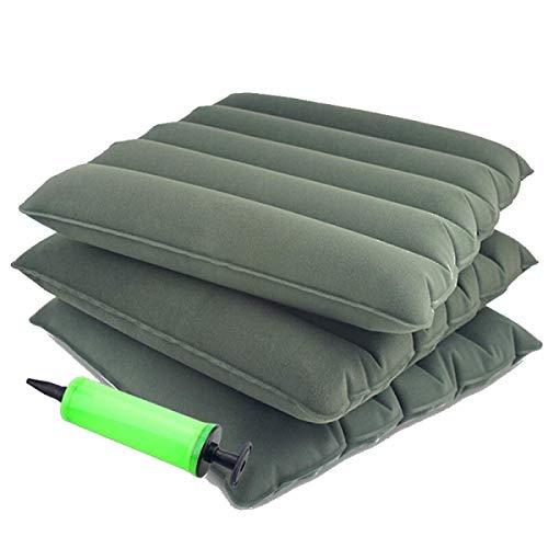 Autopeck Cushion Aufblasbares Sitzkissen für Hemorrhoid Steißbein Schmerzlinderung – Luftpumpe im Lieferumfang enthalten Quadratische Form