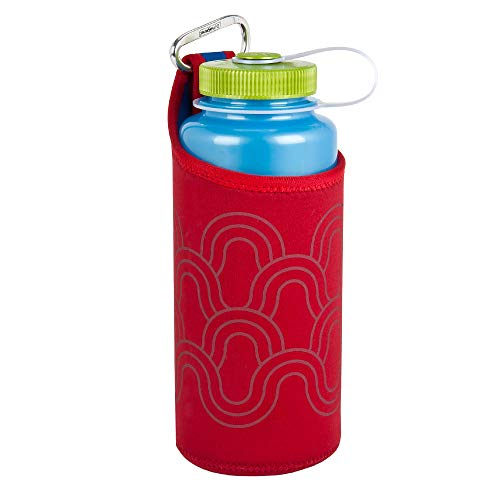Nalgene Kunststoffflaschen 'Bottle Clothing' Trinkflasche, Rot, One size