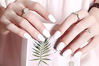 Best acrylic nails short white Reviews