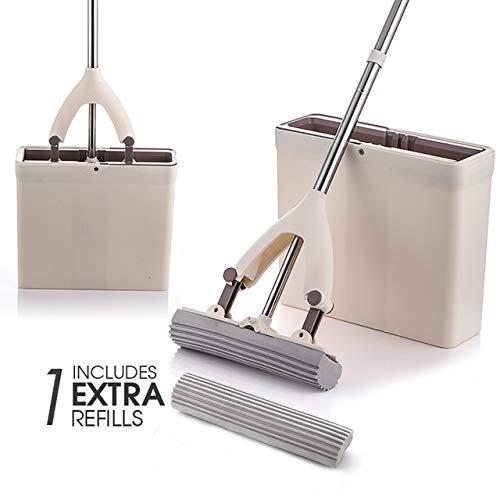 Sponge mop en mop Bucket spons met reservesponskop zijn super absorberend, gemakkelijk te reinigen en geschikt voor hardhouten vloeren in de Oekraïne