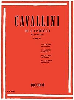 30 CAPRICCI CLARINETTE