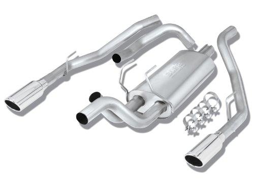 Borla 140308 Cat-Back Exhaust System - RAM 1500 '09 5.7L V8 RWD 4DR CC SB