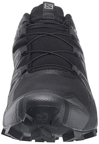 Salomon Men's Speedcross 5 Trail Running Shoe, Black/Black/PHANTOM, 10.5