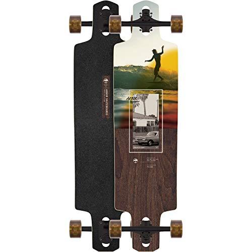 "Arbor Longboards Complete Longboard Dropcruiser Photo Walnut Beal 9.75"" x 38"""