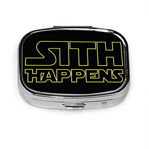 Sith Happens Custom Box Pillenetui/Pillendose/Square Pill Case