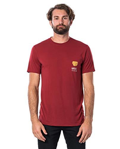 Rip Curl Ramen VPC heren T-shirt, korte mouw, casual