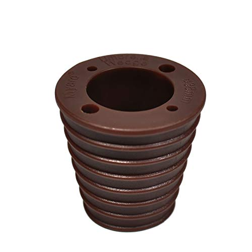 Myard MP UW38H4-DBR Umbrella Cone Wedge for Patio Table Hole Opening or Base 1.8 to 2.4 Inch, Umbrella Pole Diameter 1 1/2 (38mm, Dark Brown)