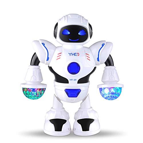Intelligenter Multi Roboter für Kinder Elektronisches Spielzeug tanzen Roboter mit Musik und Licht, Disco und Jubel...