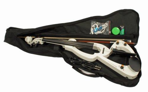 Cherrystone 4260180881035 E-Geige mit Zubehör weiß