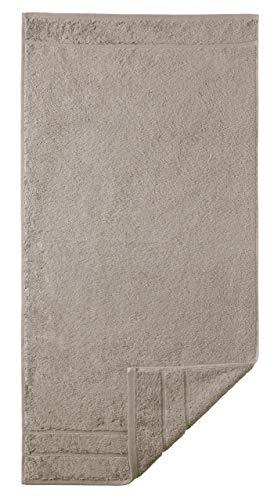Egeria 25001 Prestige Handtuch, Baumwolle, taupe, Größe 50 x 100 cm