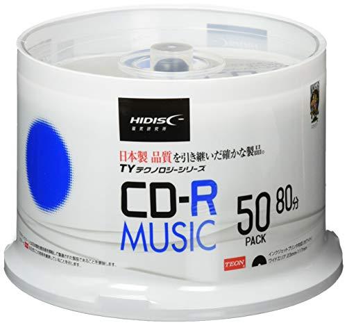 HI-DISC CD-R 音楽用 48倍速 8...