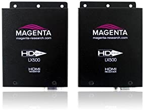 Magenta Research HD-One LX500 HDMI, IR & RS-232 Extender Kit, Includes Transmitter/Emitter, Receiver, 2x IR Dongle, 2x Universal Power Supply