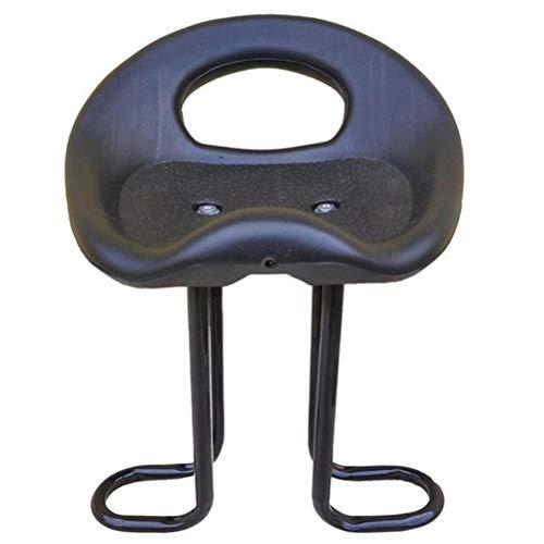 Abaodam Sillín delantero asiento de seguridad niños niño bicicleta asiento accesorios suministros