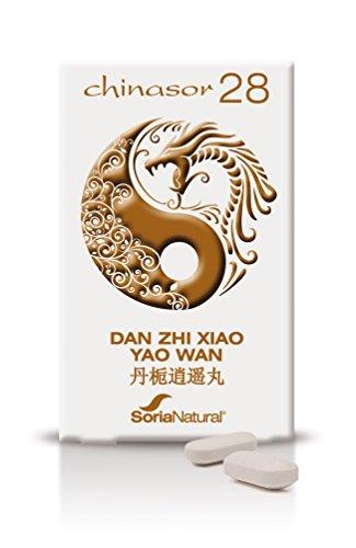 Chinasor 28 Dan Zhixiao Yao Wan 30 Comprimidos de Soria Natural