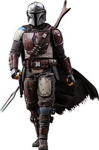 Hot Toys Figura El Mandaloriano 30 cm. Star Wars 1:6. con luz